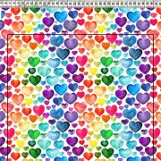 Hearts Multicoulor