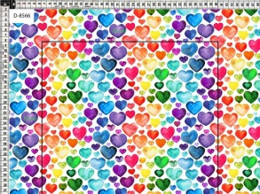 Hearts Multicoulor - hearts multi vit