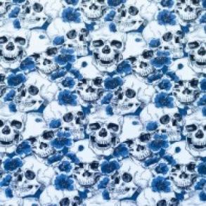 Stuvbit dödskalle blå - Stuvbit dödskalle blå