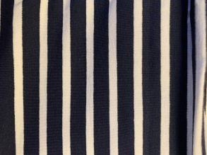 Stuvbit randig marin/vit - Stuvbit marin/vit