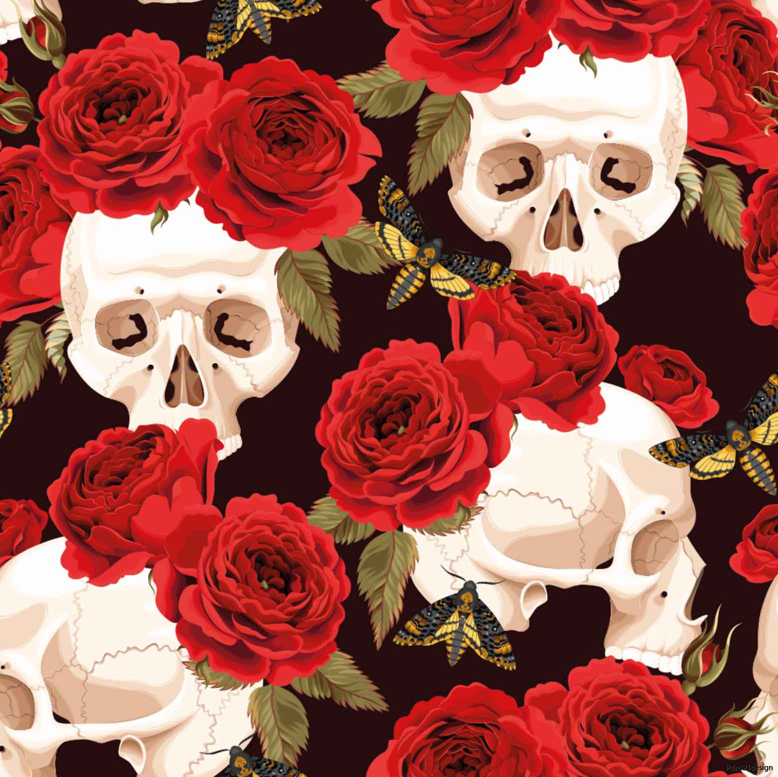 scull_and_roses