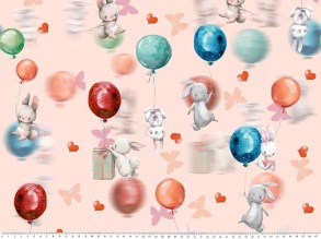 Balloon and rabbit - Balloon and rabbit