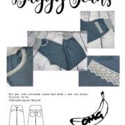 Baggy Jeans – Dambyxa