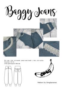 Baggy Jeans – Dambyxa - Baggy Jeans – Dambyxa