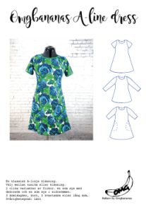 Omgbananas A-line dress – Klänning Dam - Omgbananas A-line dress – Klänning Dam