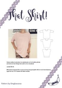 That Shirt – Oversize tröja -Dam - That Shirt – Oversize tröja -Dam