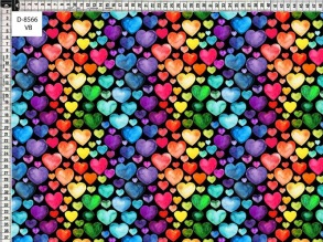 Hearts  Multicolor black - Hearts  Multicolor black