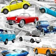Färgglada bilar
