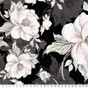 Flowers, Black/White