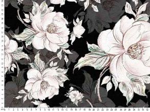 Flowers, Black/White - Flowers, Black/White