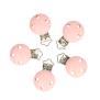 Clips till napphållare - clips rosa