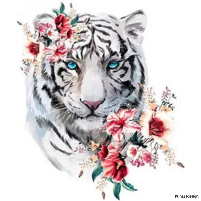 white-tiger-wflower-5d-diamond-painting-kits-n1171001-mosaic-emboidery
