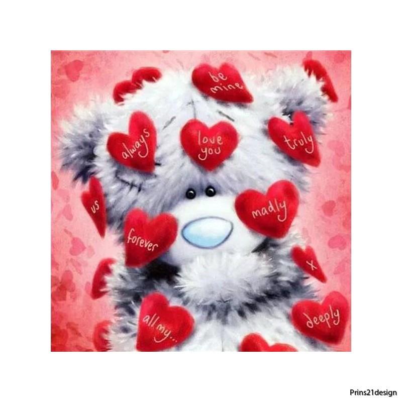wholesale-distributor-heart-teddy-bear-diamond-painting-cross-stitch-2049938
