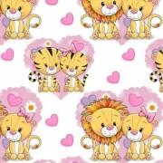 Lejon och tiger