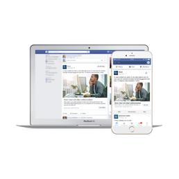 2. Vi utformar er annons med video, bild och text för bästa engagemang och resultat på sociala medier.