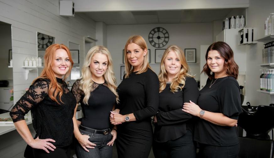 Angelica, Sofie, Natalie, Mikaela & Jennie