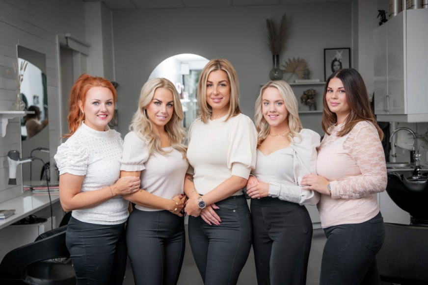 Angelica, Sofie, Natalie, Cecilia & Jennie