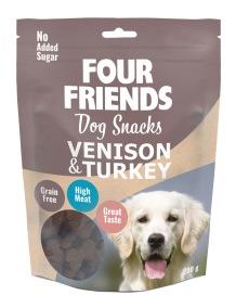 Four Friends dog snacks HJORT & KALKON