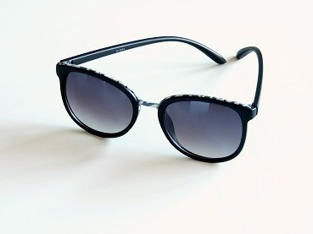 Solglasögon svarta Vega