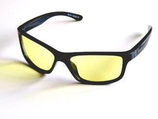 Solglas Lasse med gula glas