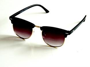 Solläsglasögon med läsruta Karlsson svarta