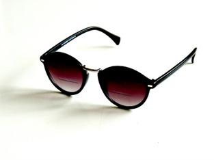 Solläsglasögon med läsruta Ernst svarta