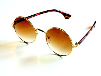 Solglasögon Trieste guld