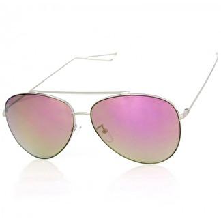 Solglasögon Alfons rosa spegel