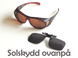 Solskydd ovanpå dina glasögon