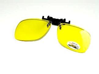 Flip up gula 60 mm finns med polariserat eller uvglas