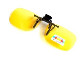 Polariserande gula flipup 58 mm
