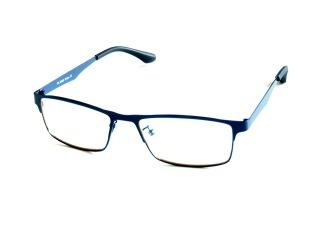 Skärmglas Frej mörkblå metall utan styrka