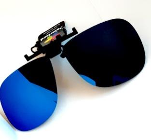 Flip up med polariserande spegelglas 60 mm