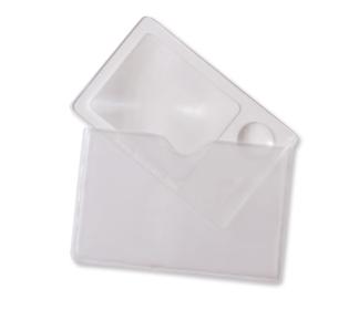 Förstoringsglas i storlek för plånbok