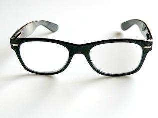 Läsglas Wayne svart