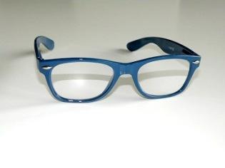 Läsglas Wayne blå
