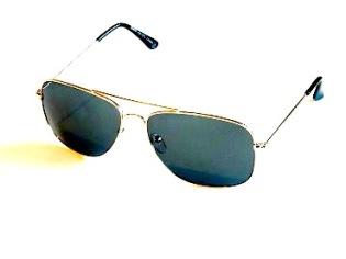 Solglasögon Lasse guld