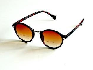 Solläsglasögon med läsruta Ernst bruna