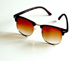 Solläsglasögon med läsruta Karlsson bruna