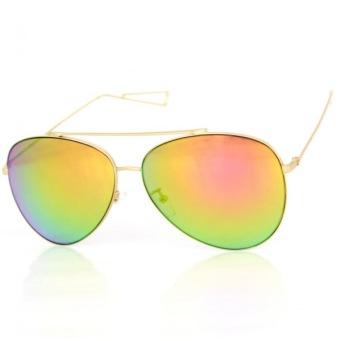 Solglasögon Alfons orange spegel