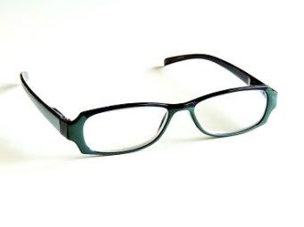 Läsglas svart och grön