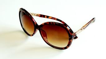 Solglasögon Nanna bruna
