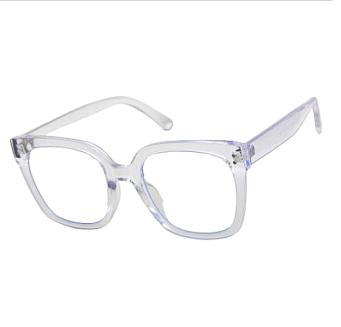 Klarglas/terminalglasögon Kringel