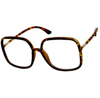 Klarglas/terminalglasögon Kvadrat