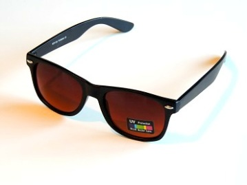 Solglasögon blueblocker svart klassiker