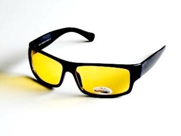 Solglasögon Svante med gula glas