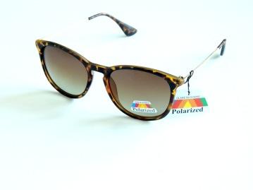 Polariserande solglas Dina bruna