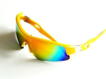 Solglas sportig hellins, 4 färger