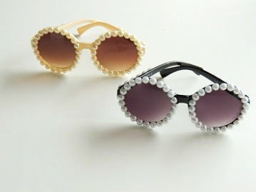 Solglasögon Pearl round