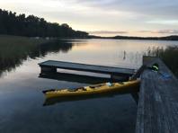 Kvällspaddling runt Torö